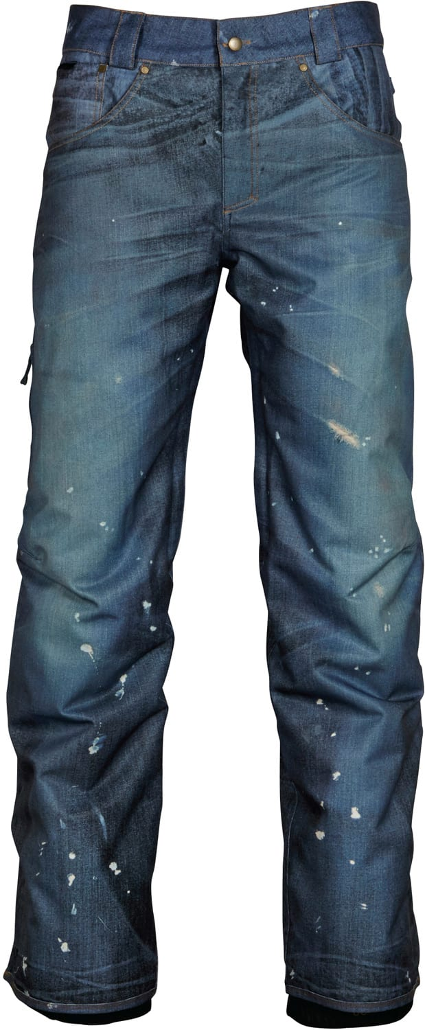 686 Deconstructed Insulated Denim Snowboard Pants