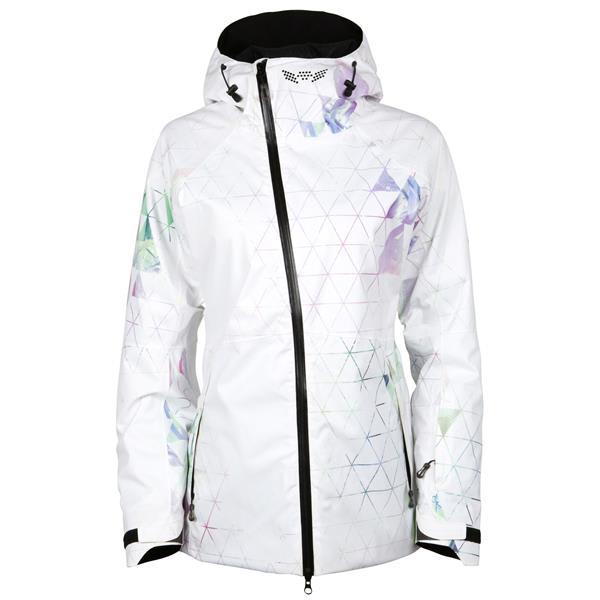 686 Hydra Snowboard Jacket Womens Geo Palm 17 Zoom