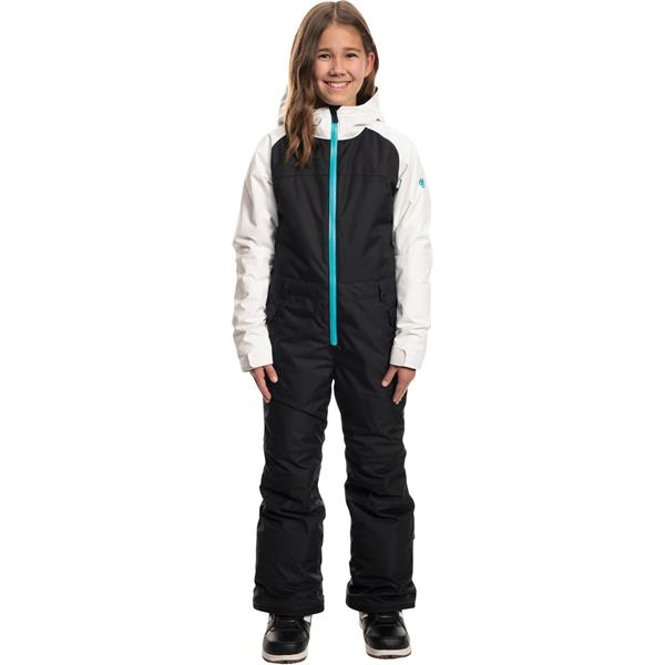 686 Girls Shine One Piece Snow Suit Waterproof Ski and Winter Childrens Snow Suit