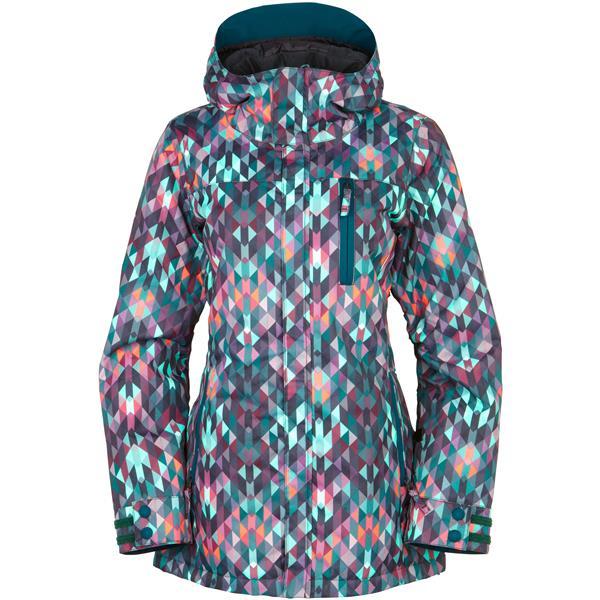 686 Smarty Haven Wmns Snowboard Jacket Kaleidoscope 17 Zoom
