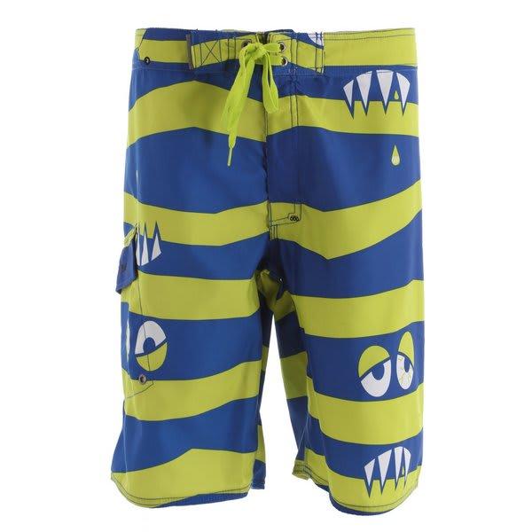 686 Snaggle Stripe Boardshorts U.S.A. & Canada