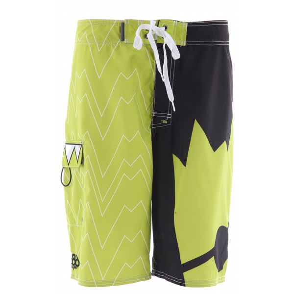 686 Snaggle Tooth Boardshorts U.S.A. & Canada