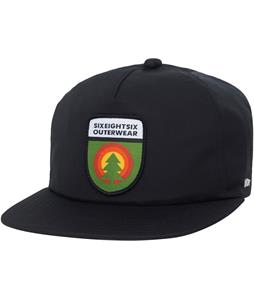 686 Waterproof Tree Life Snapback Cap