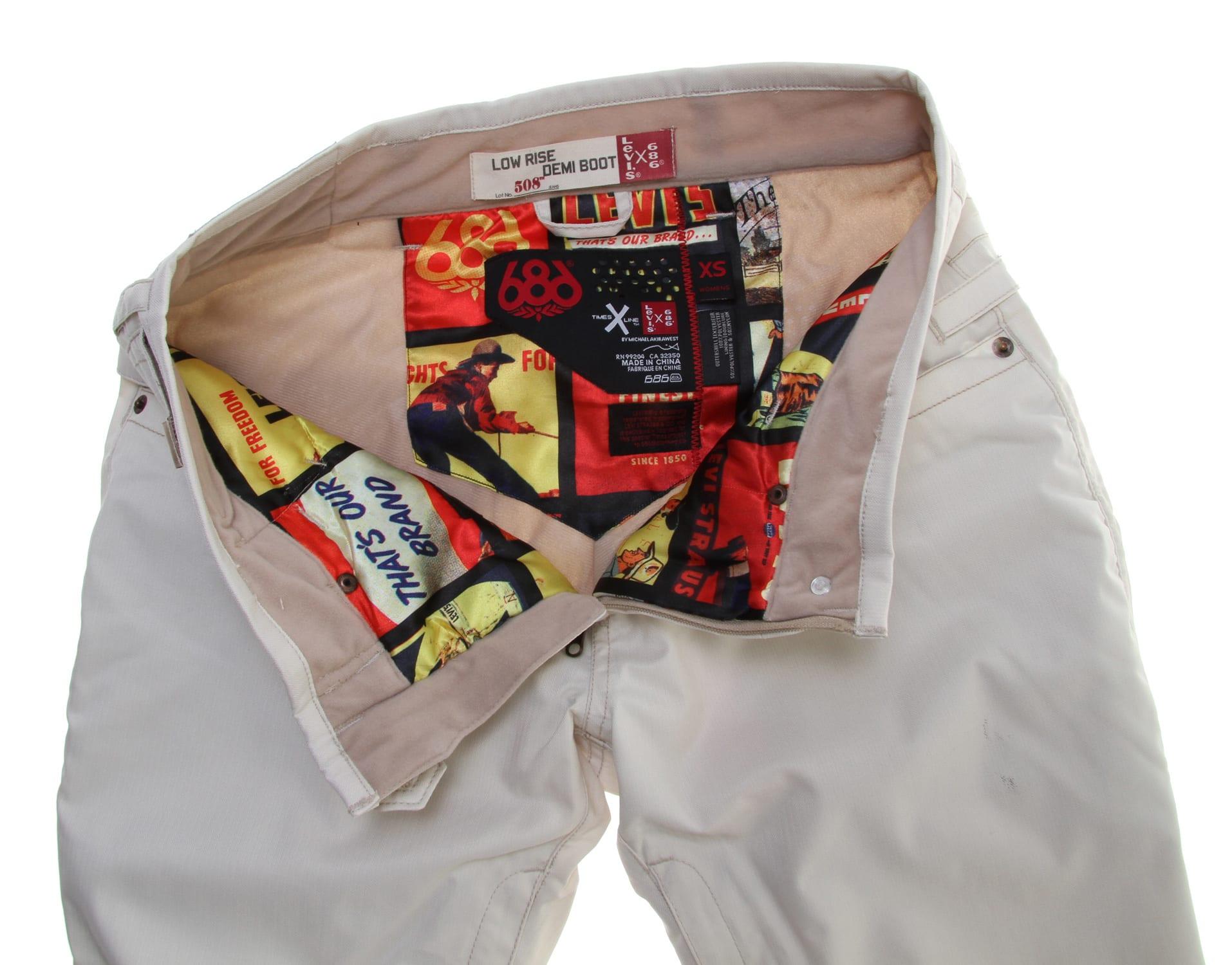 686 Levi Demi Boot Snowboard Pants