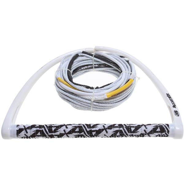 Accurate Chamois Handle W / A Line Mainline Wakeboard Rope Combo 80Ft U.S.A. & Canada