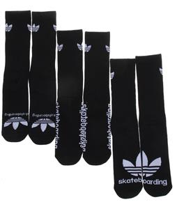 Adidas AS Skateboarding Crew 3-Pack Socks