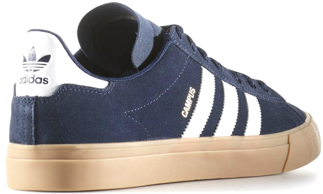 new york ec918 b6e21 Adidas Campus Vulc II ADV Skate Shoes - thumbnail 5