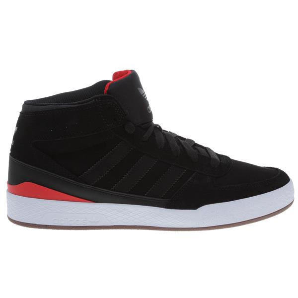 Adidas Forum X Skate Bmx Shoes Black / Black / Vivid Red U.S.A. & Canada
