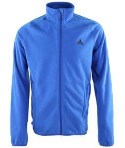 Adidas outdoor Men's Hiking Fleece Jacket (Large, Blue Beauty)