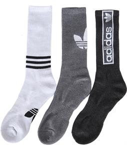 Adidas Originals Logo 3 Pack Socks