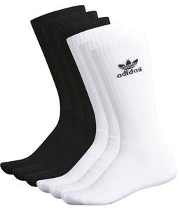 Adidas Originals Trefoil Crew 6 Pack Socks