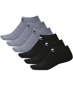 Adidas Originals Trefoil No Show 6 Pack Socks