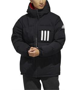 Adidas Terrex Reversible 3-Stripe Down Hooded Jacket