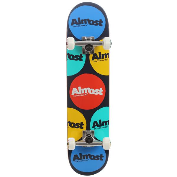 Almost Polka Skateboard Complete Red / Blue U.S.A. & Canada