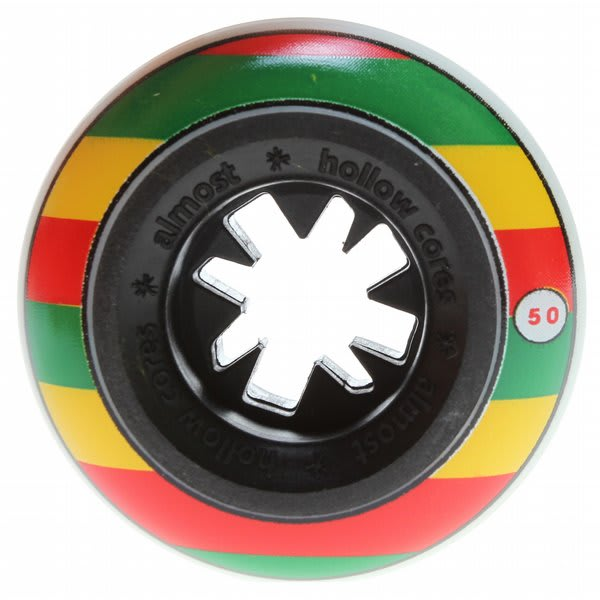 Almost Rasta Bandwagon Hc Skateboard Wheels Rasta 50Mm U.S.A. & Canada