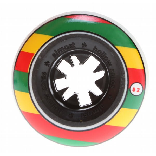 Almost Rasta Bandwagon Hc Skateboard Wheels Rasta 52Mm U.S.A. & Canada