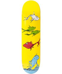 Almost x Dr. Seuss Yuri Cat-N-Fish Skateboard Deck