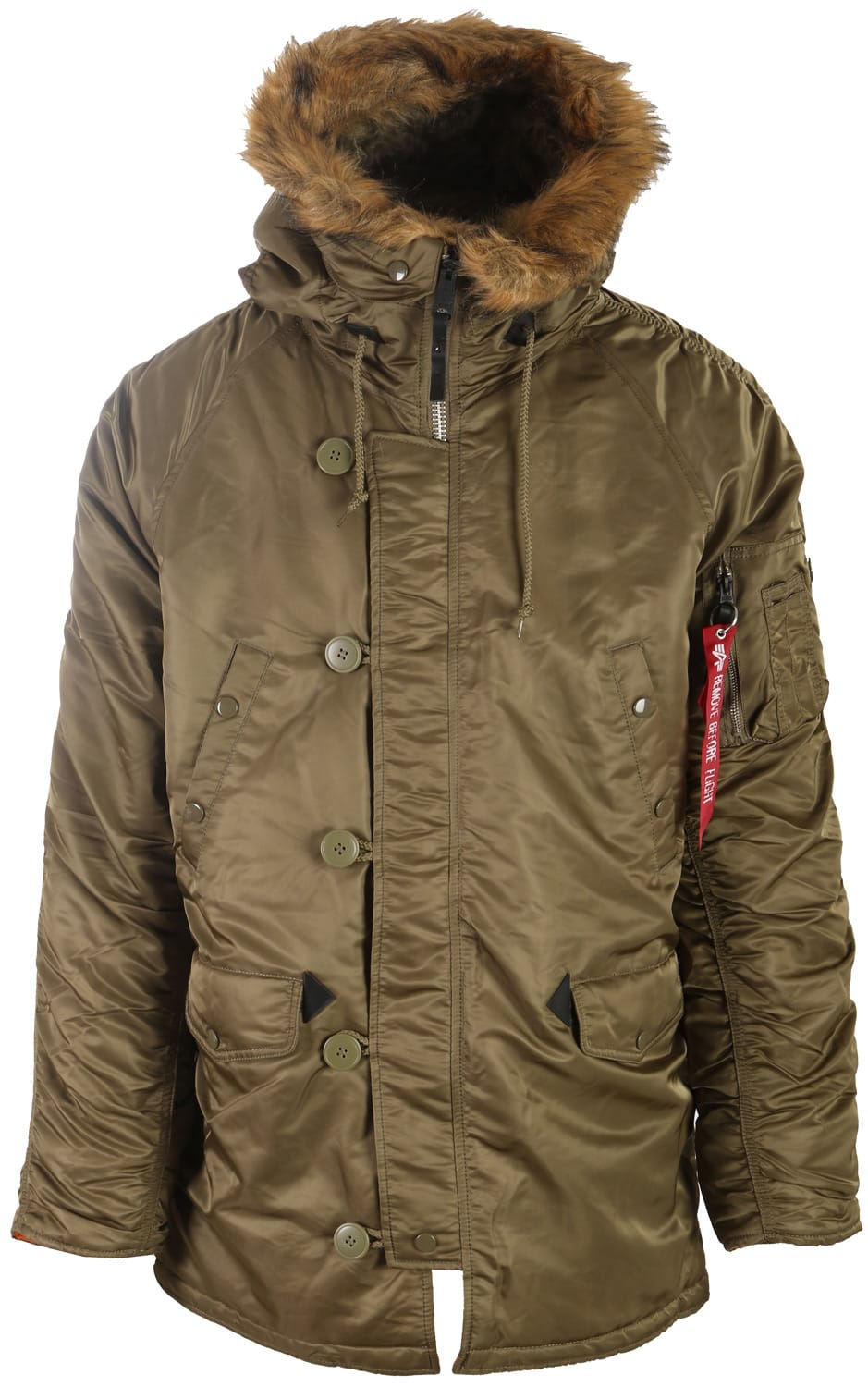 Industries Alpha Fit Slim N Parka 3b drwqaCr4