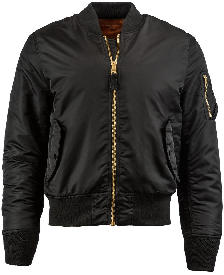 Alpha Industries MA-1 Slim Fit Jacket ai3ma1sf04bk18zz-alpha-industries-casual-jackets