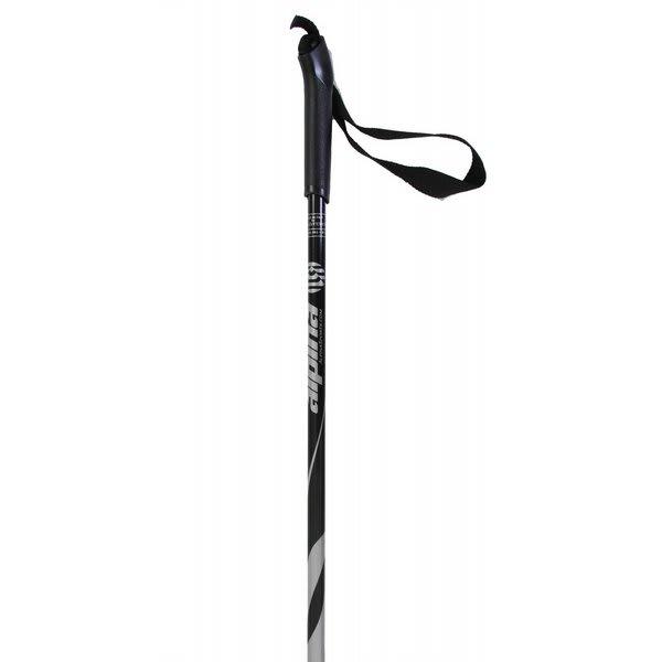 Alpina Asc St Cross Country Ski Poles Silver Snowflake Basket U.S.A. & Canada