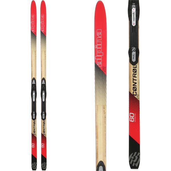 Alpina Control 60 NIS XC Skis W/ Tour Auto Bindings 2020