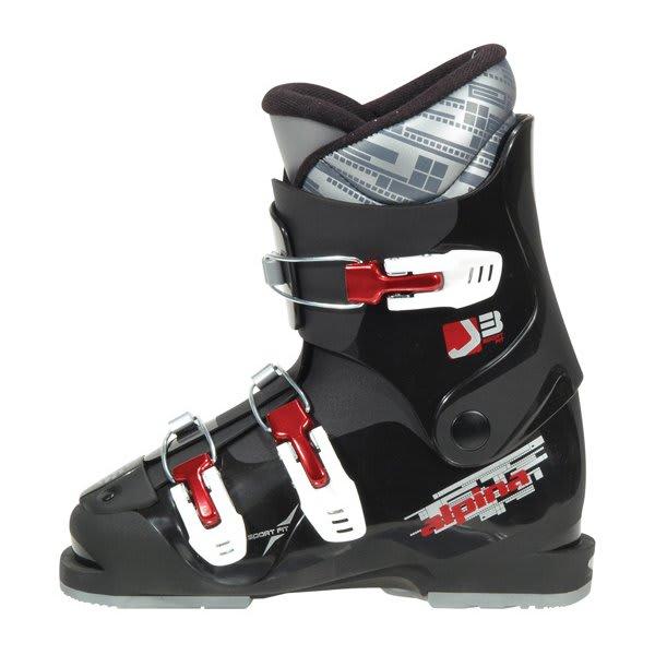 Alpina J3 Ski Boots Black U.S.A. & Canada