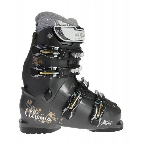 Alpina X5L Ski Boots Anthracite U.S.A. & Canada