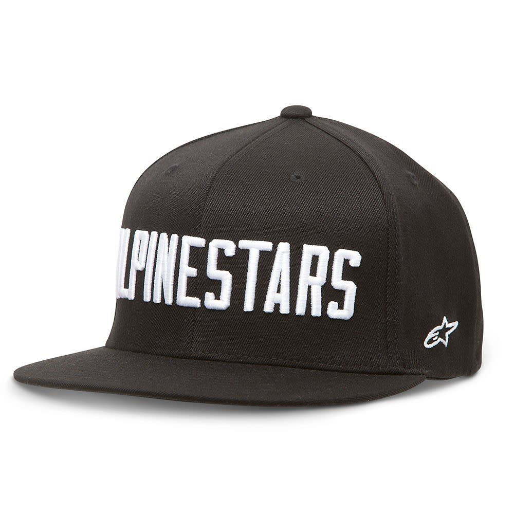 Alpinestars Big Word Cap at8bigw24bk16zz-alpinestars-caps