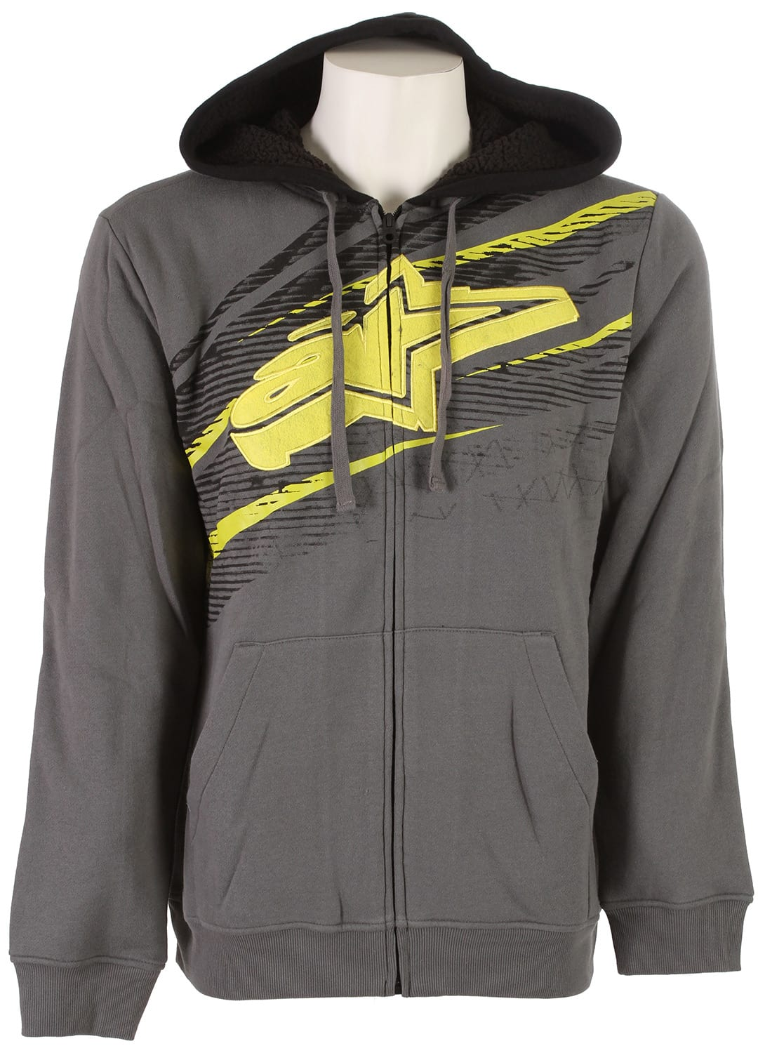 Alpinestars Undercut Zip Hoodie at3uncz04ch14zz-alpinestars-hoodies