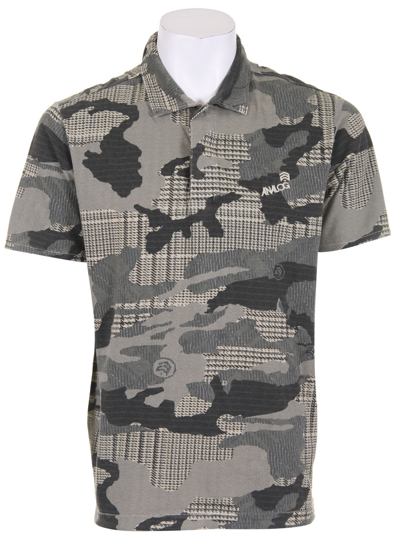 Analog Novice Polo Shirt an3nvc02vg7zz-analog-t-shirts