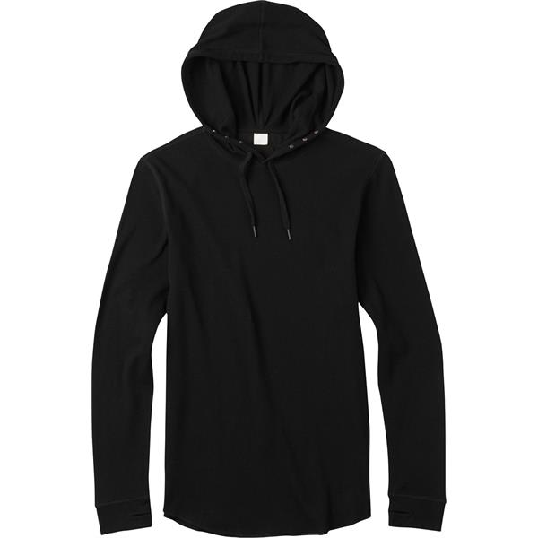 On Sale Analog Overlay Pullover Thermal Hoodie up to 40% off
