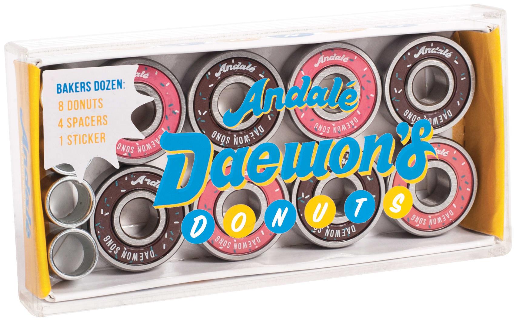 Image of Andale Daewon's Donut Box Skateboard Bearings