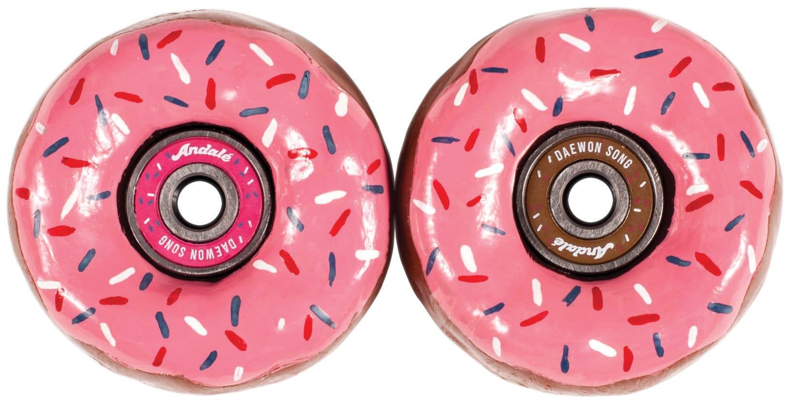 Image of Andale Daewon's Donuts Skateboard Bearings w/ Wax