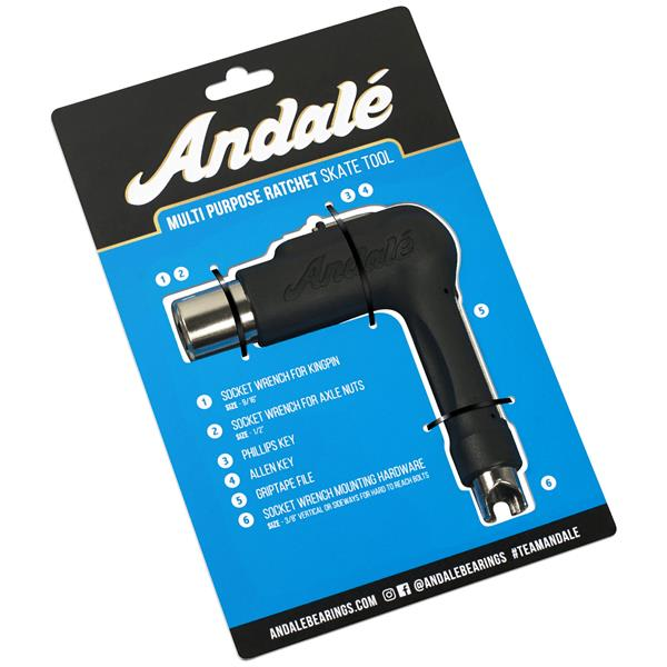 Andale Multipurpose Ratchet Skateboard Tool