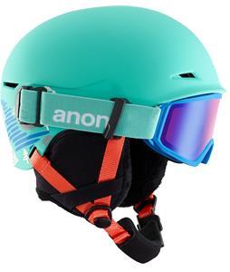 Small/Medium White Anon Kids Rime Helmet