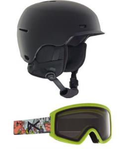 Anon Flash Snow Helmet w/ Tracker 2.0 Goggles