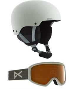 Anon Greta 3 MIPS Snow Helmet w/ Insight Perceive Goggles w/ Spare Lens