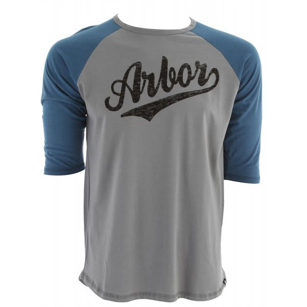 Arbor Durham 3 / 4 Sleeve T Shirt U.S.A. & Canada