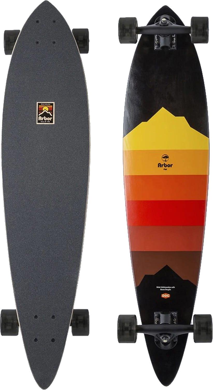 Arbor Complete Longboard Skateboard Fish Artist Draplin 37