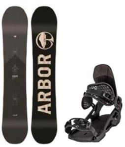 Arbor Foundation Snowboard w/ Spruce Bindings
