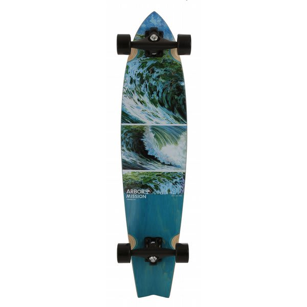 Arbor Mission Longboard Complete U.S.A. & Canada