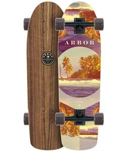 Arbor Pilsner Walnut Photo Longboard Complete
