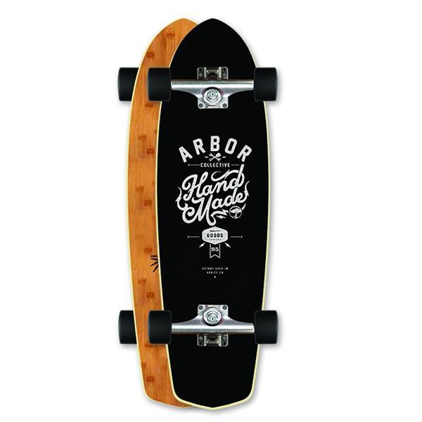 Arbor Pocket Rocket Longboard Complete Bamboo U.S.A. & Canada
