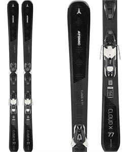 Atomic Cloud x 77 Skis w/ Lithium 10 Bindings