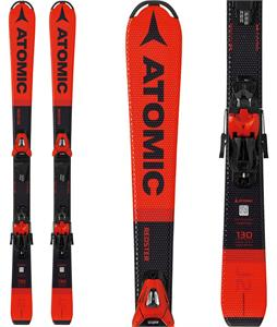 Atomic Redster J2 Skis w/ C5 GW Bindings