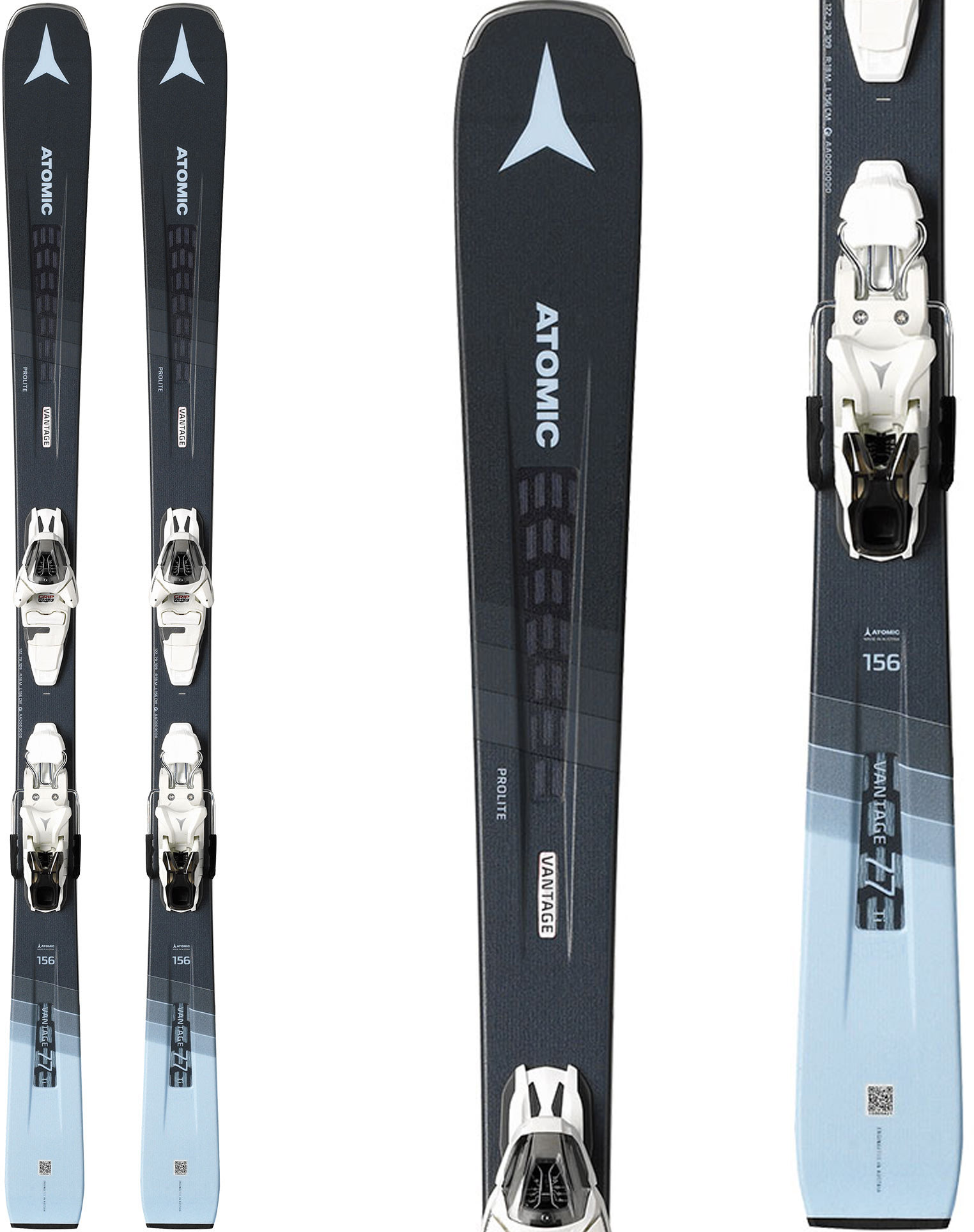 Atomic Vantage 77 Ti Skis w/ L10 GW Bindings - Womens 2020