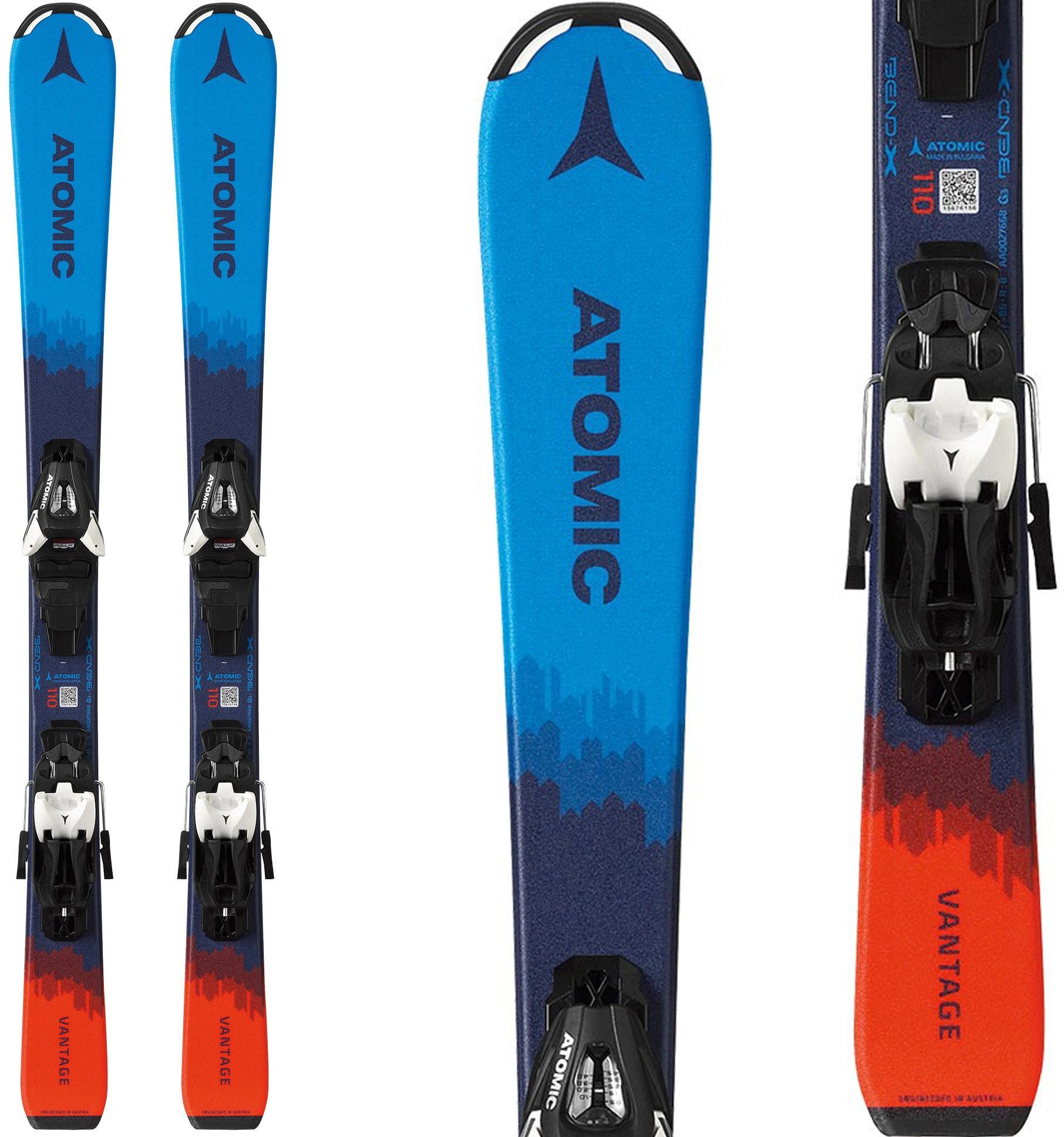 Atomic Vantage Jr Skis W/ C5 GW Bindings