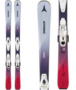 Atomic Vantage X 74 Skis w/ Lithium 10 Bindings