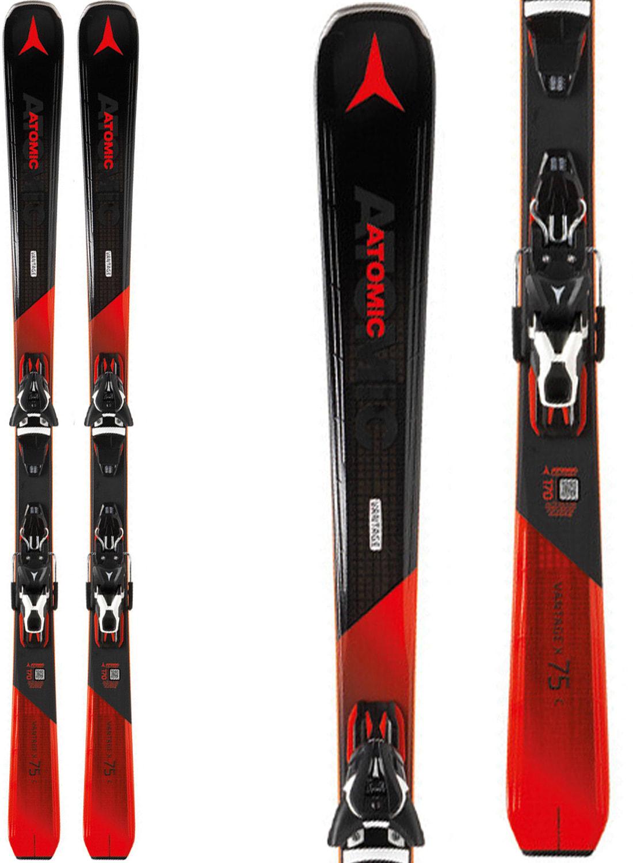 Atomic Vantage X 75 C Skis w  Lithium 10 Bindings - thumbnail 1 d0ca52700778