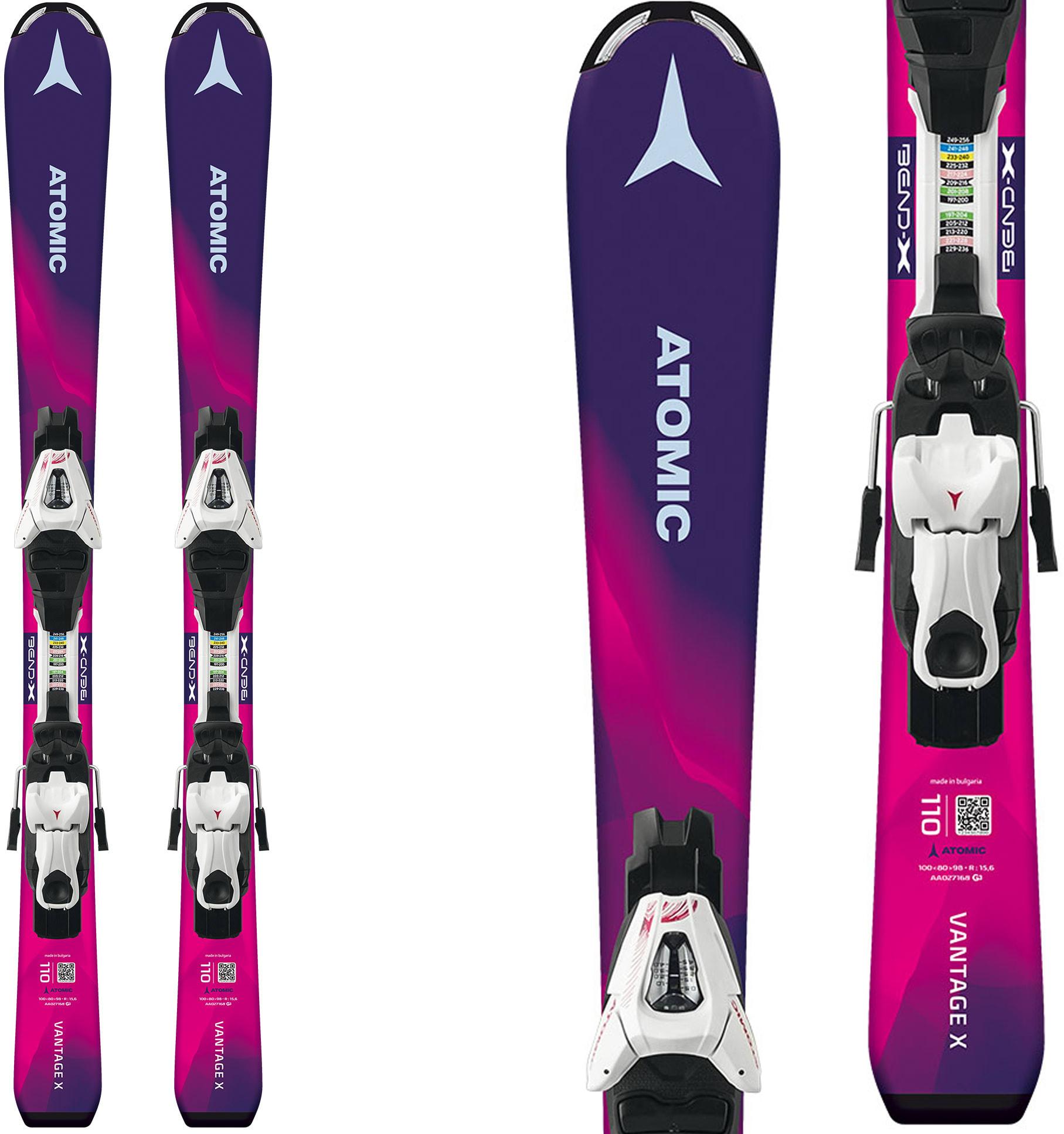 Atomic Vantage X Skis W/ C 5 Bindings